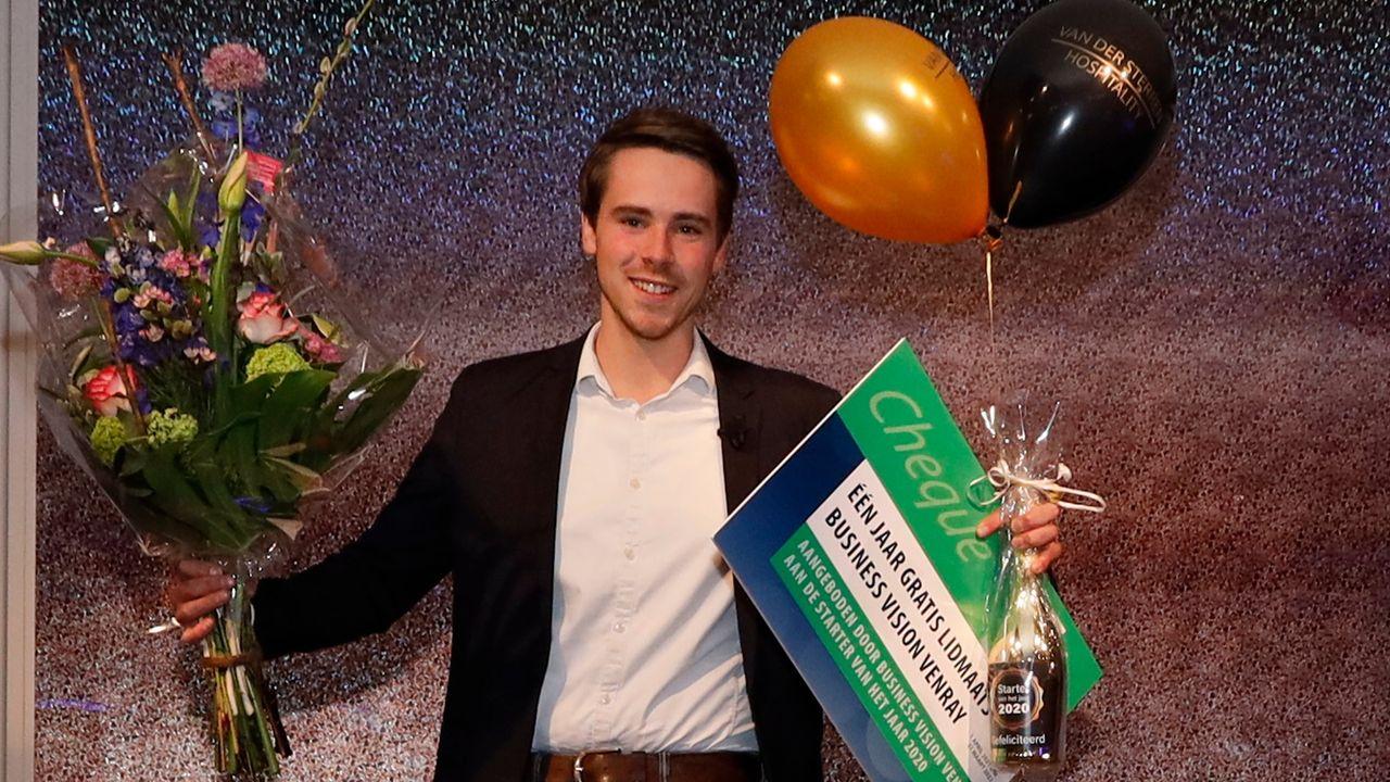 Geert Rasing uitgeroepen tot starter van het jaar 2020