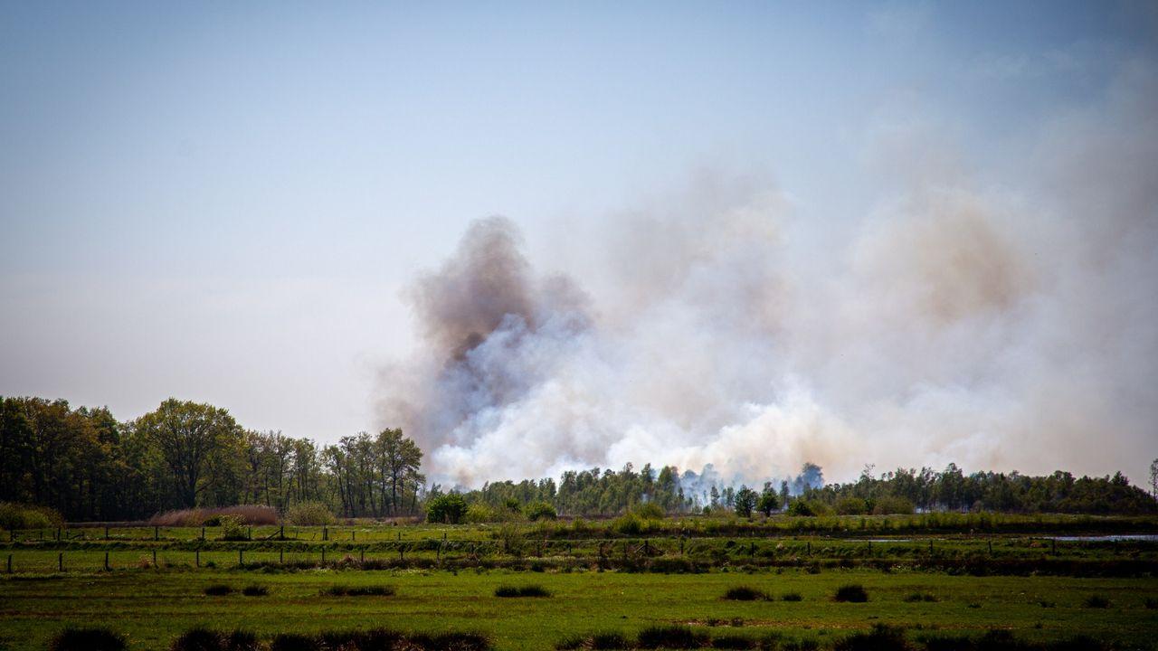 Onderzoek naar mogelijke brandstichting Peelbrand levert niks op