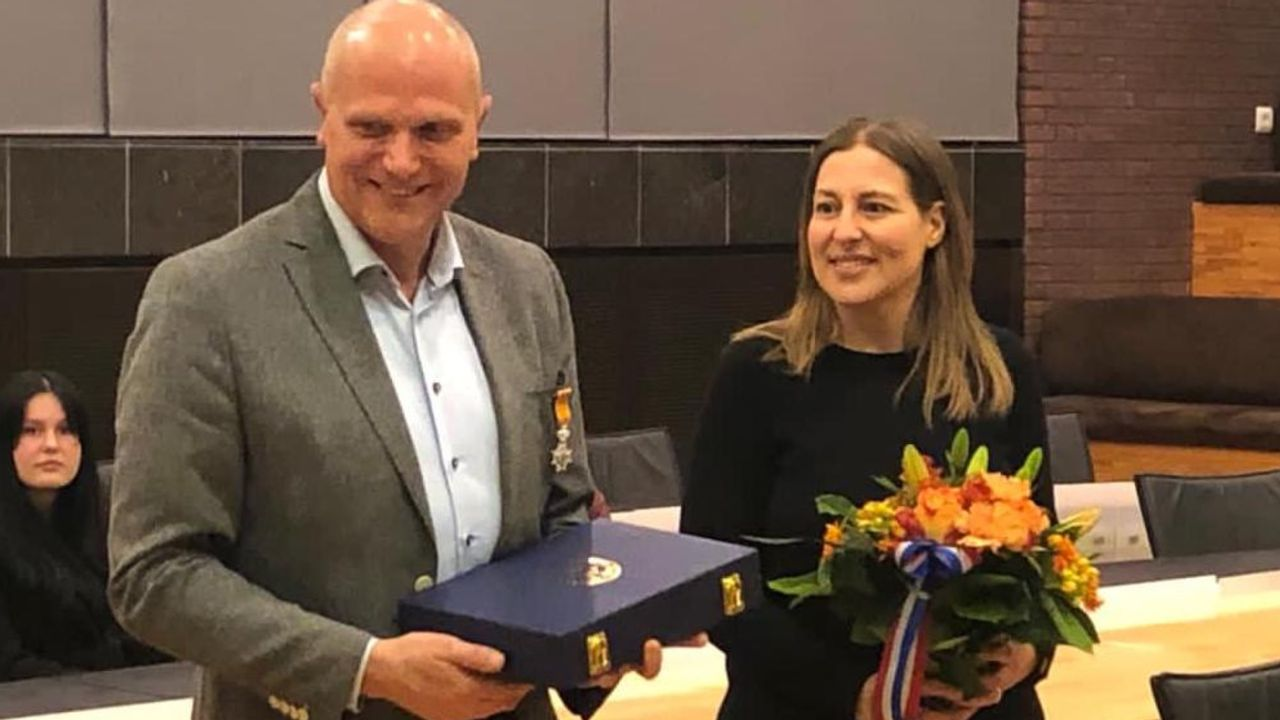 Koninklijke onderscheiding voor raadslid Richard van der Weegen