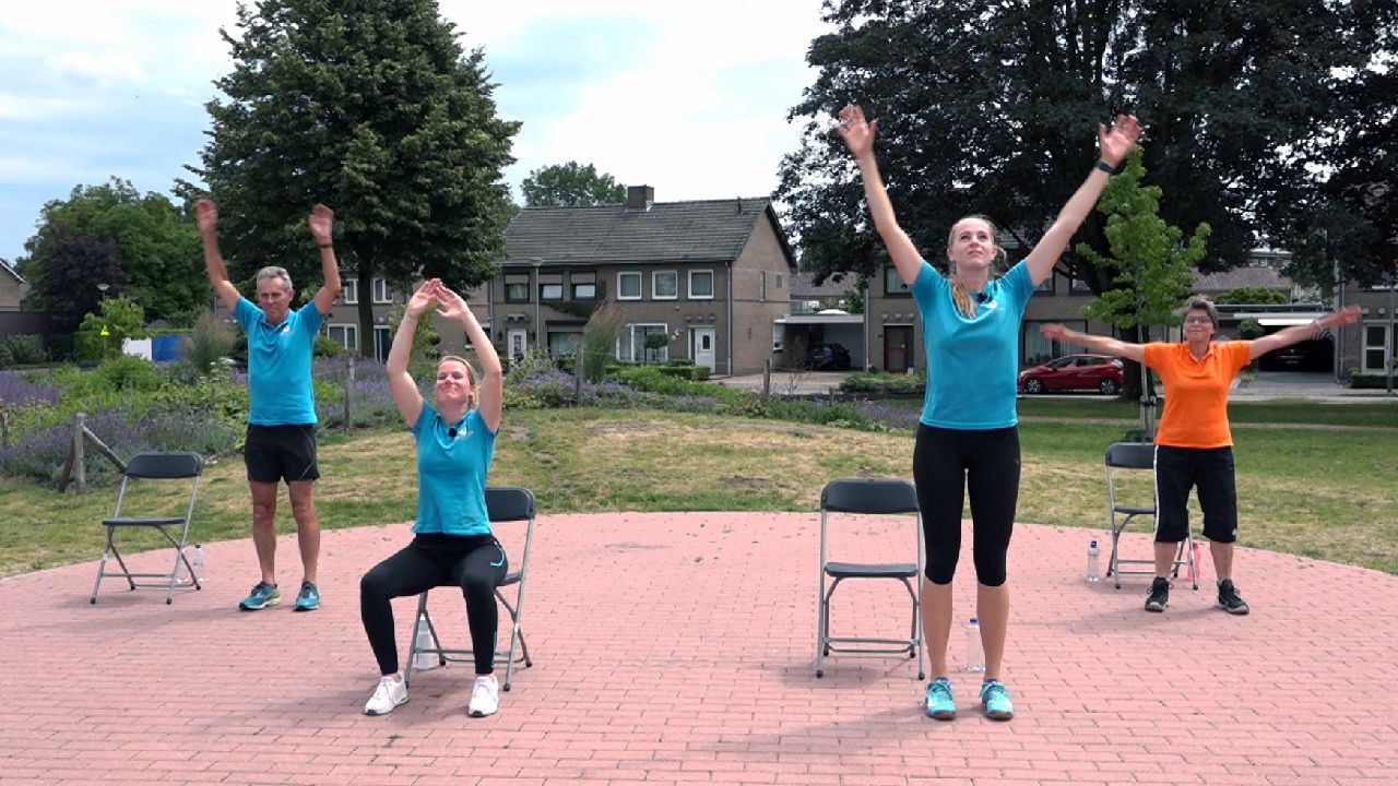 Nieuw op tv: wekelijkse gymnastiekoefeningen voor ouderen