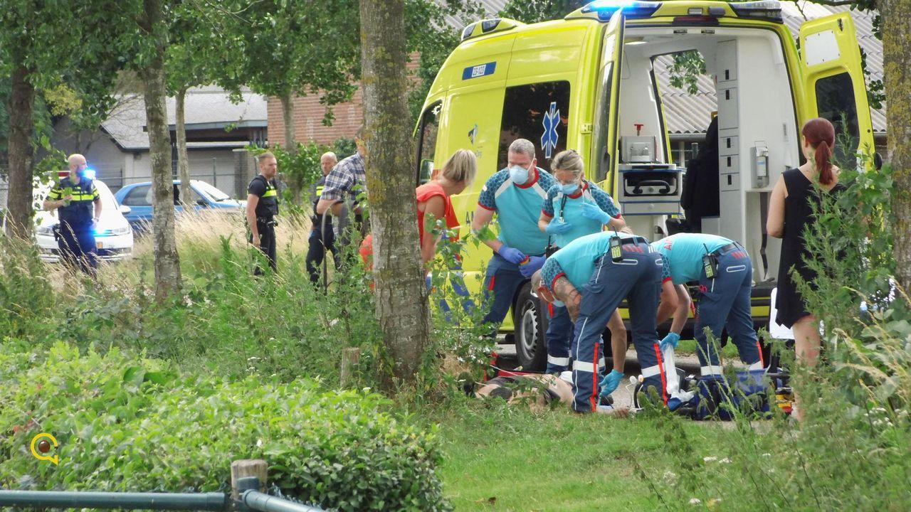 Ongeval met op hol geslagen paard