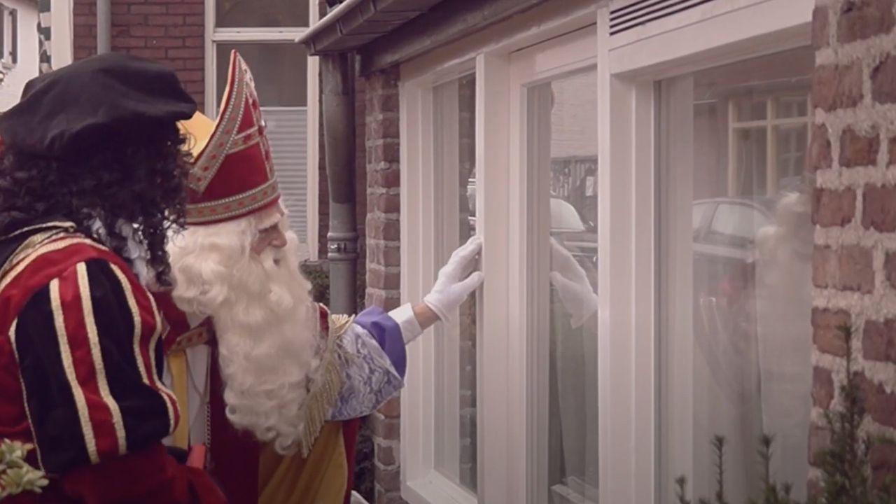 Sinterklaas brengt tóch bezoek aan Grubbenvorst