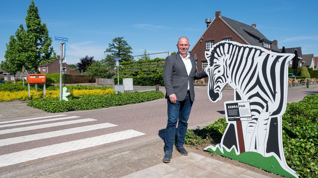 Zebra moet zorgen voor verbetering verkeersveiligheid rond zebrapaden