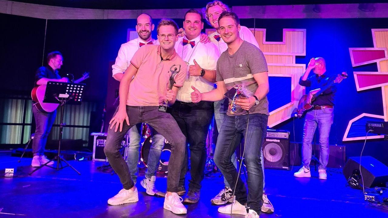Gekke Jetjes en Ken&Robbie winnen liedjesmiddag Grubbenvorst
