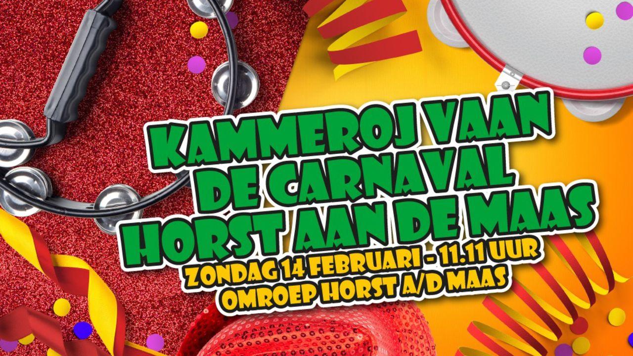 Horst aan de Maas viert carnaval op tv