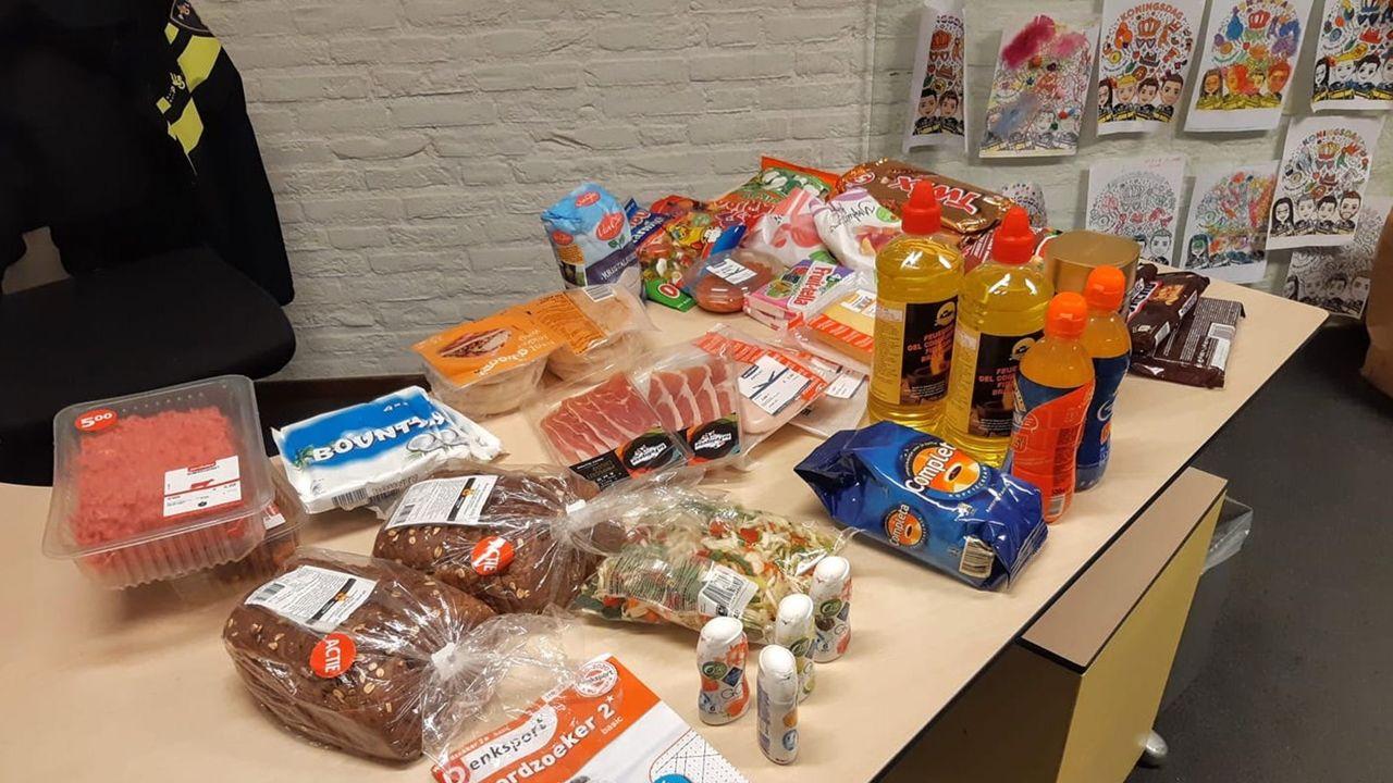 Supermarktpersoneel en burgers helpen bij arrestatie winkeldief