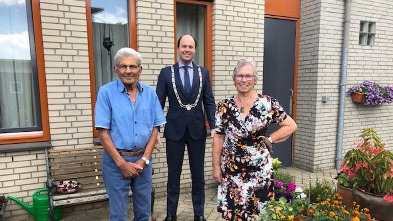 Echtpaar Vousten-Clabbers 60 jaar getrouwd