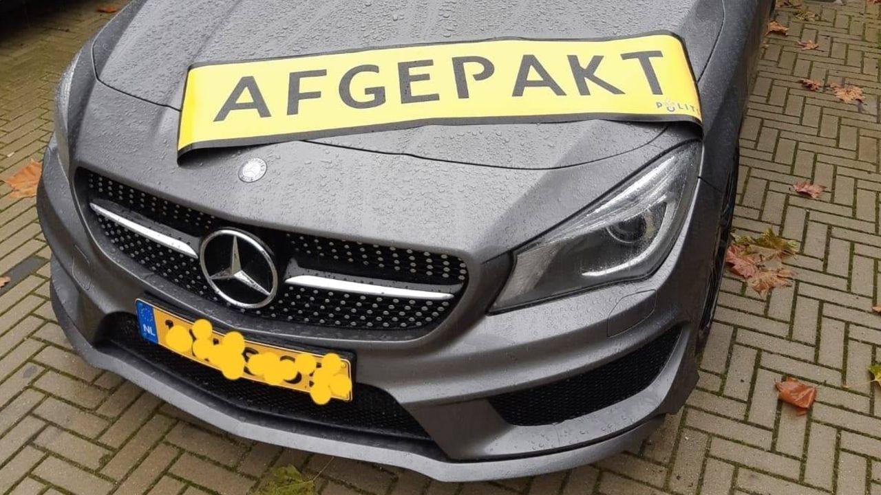 Politie pakt auto af van Sevenumse fraudeur
