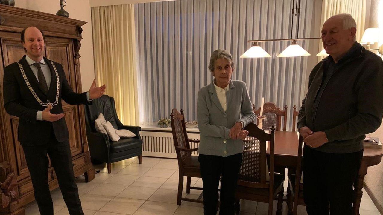 Echtpaar Berden-Backus 60 jaar getrouwd