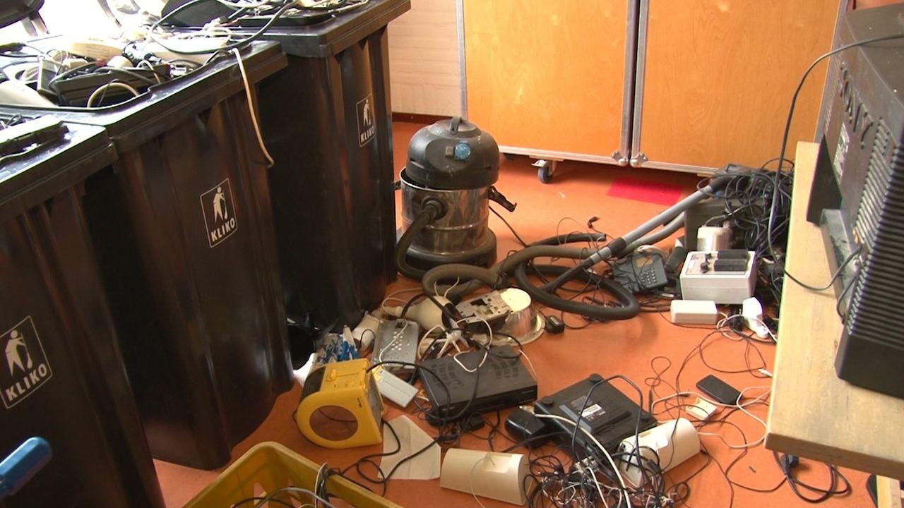 'Als we elektronisch afval nu niet recyclen zijn er over 30 jaar geen grondstoffen meer'