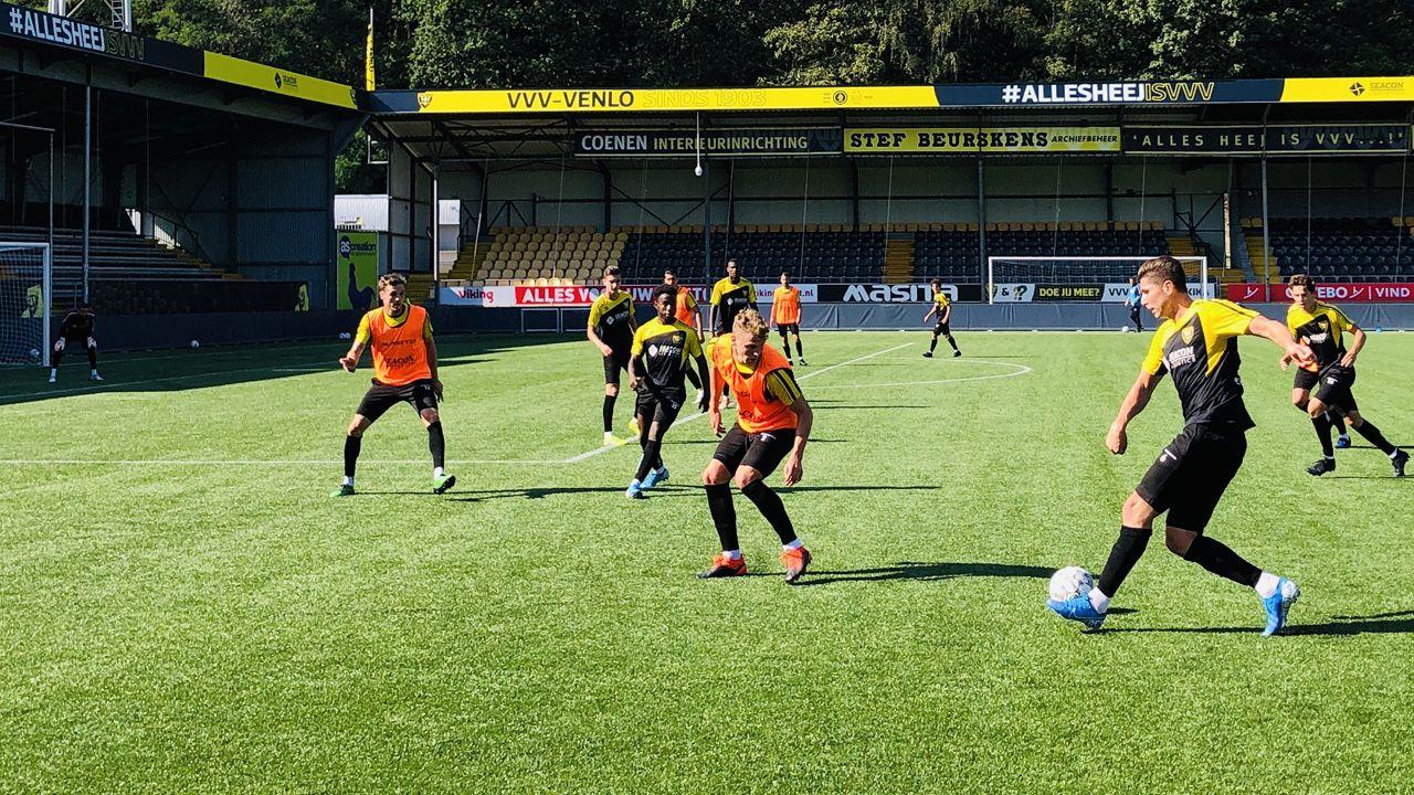 VVV-Venlo start voorbereiding op seizoen bij Wittenhorst