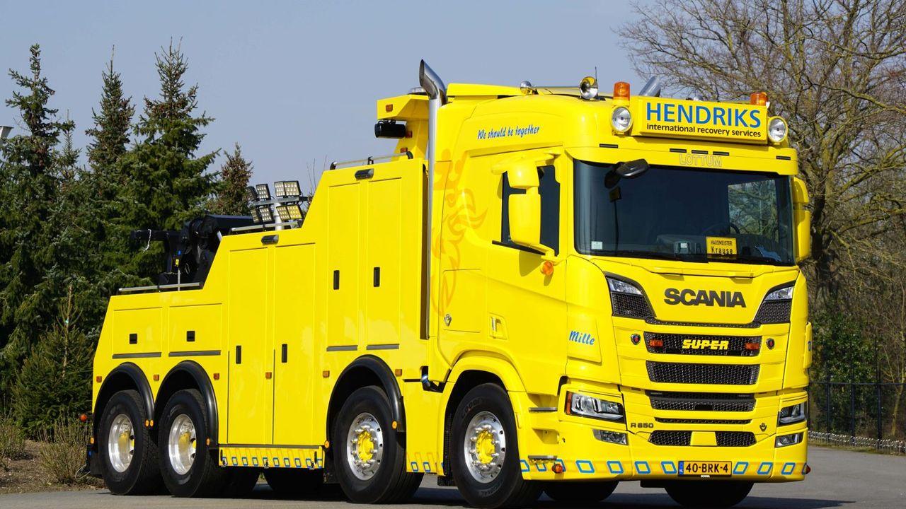 Truck Hendriks Lottum Mooiste Speciale Voertuig van 2021