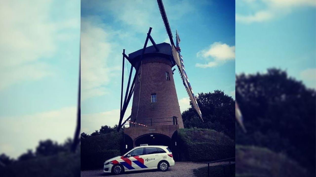 Politie onderzoekt inbraak Lottumse molen