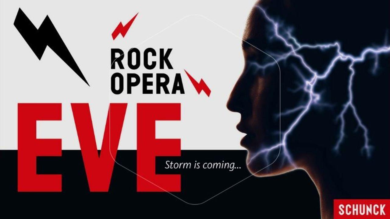 Rockopera 'EVE, Storm is coming' zondag in Schouwburg Venray