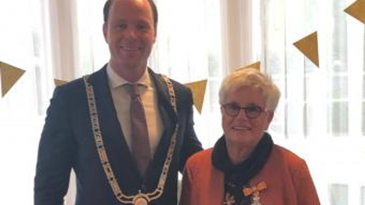 Koninklijke onderscheiding voor Truus Muijsers-Jeucken