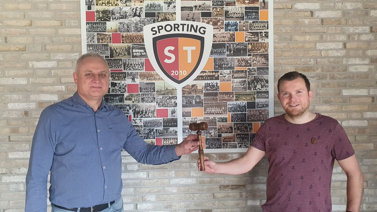 Tim Dings voorzitter Sporting ST