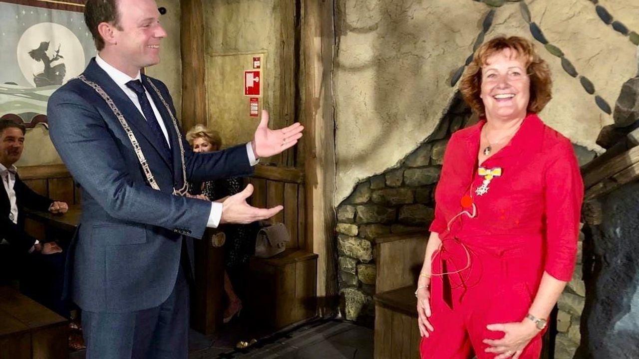 Koninklijke onderscheiding voor Caroline Kortooms