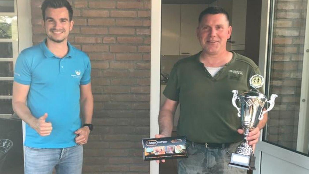 Tom Cuppen wint wandelcompetitie