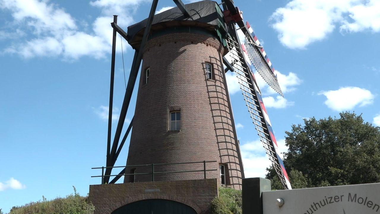 Schamele buit voor inbreker Lottumse molen