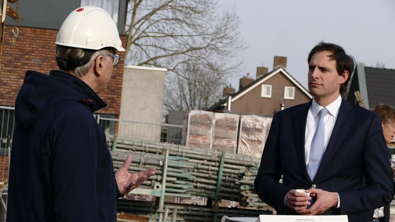 CDA-lijsttrekker Hoekstra bezoekt Horst aan de Maas