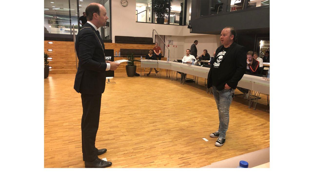 Michael van Rengs geïnstalleerd in gemeenteraad