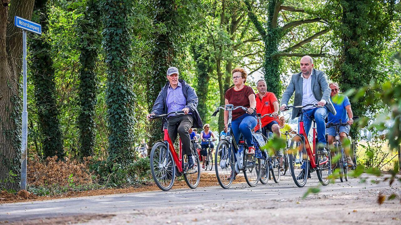 Nieuwe fietsverbinding tussen Broekhuizen en Blitterswijck in gebruik genomen