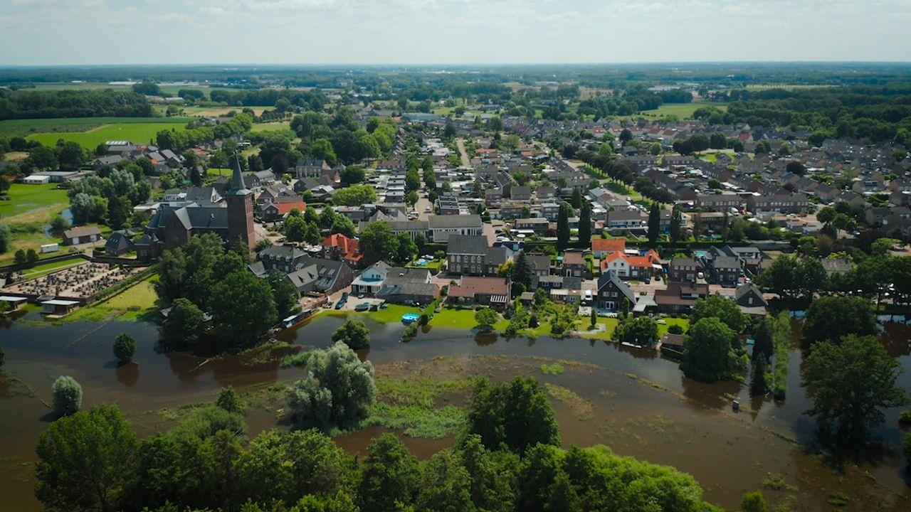 Gift van Nationaal Rampenfonds aan getroffenen overstroming