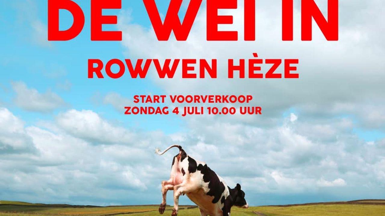 """Rowwen Heze gaat na 1,5 jaar weer """"de wei in"""""""