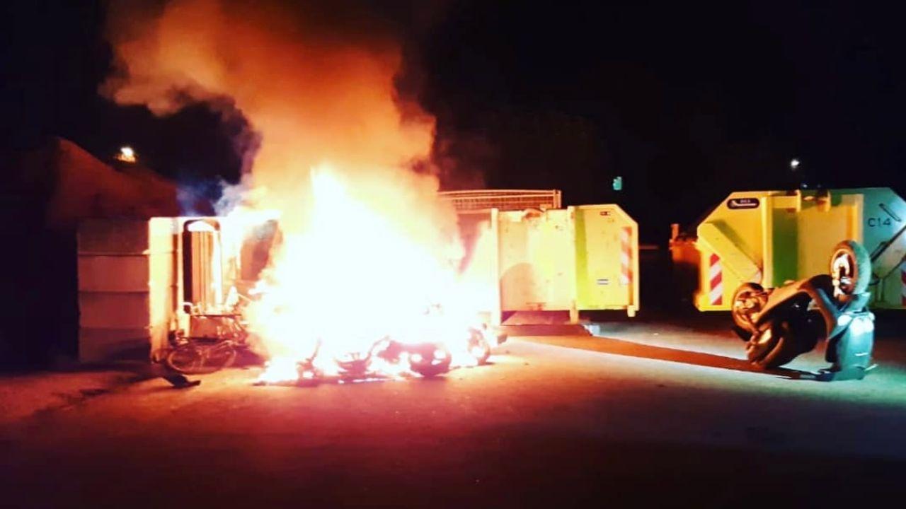 Brand op gemeentewerf Horst
