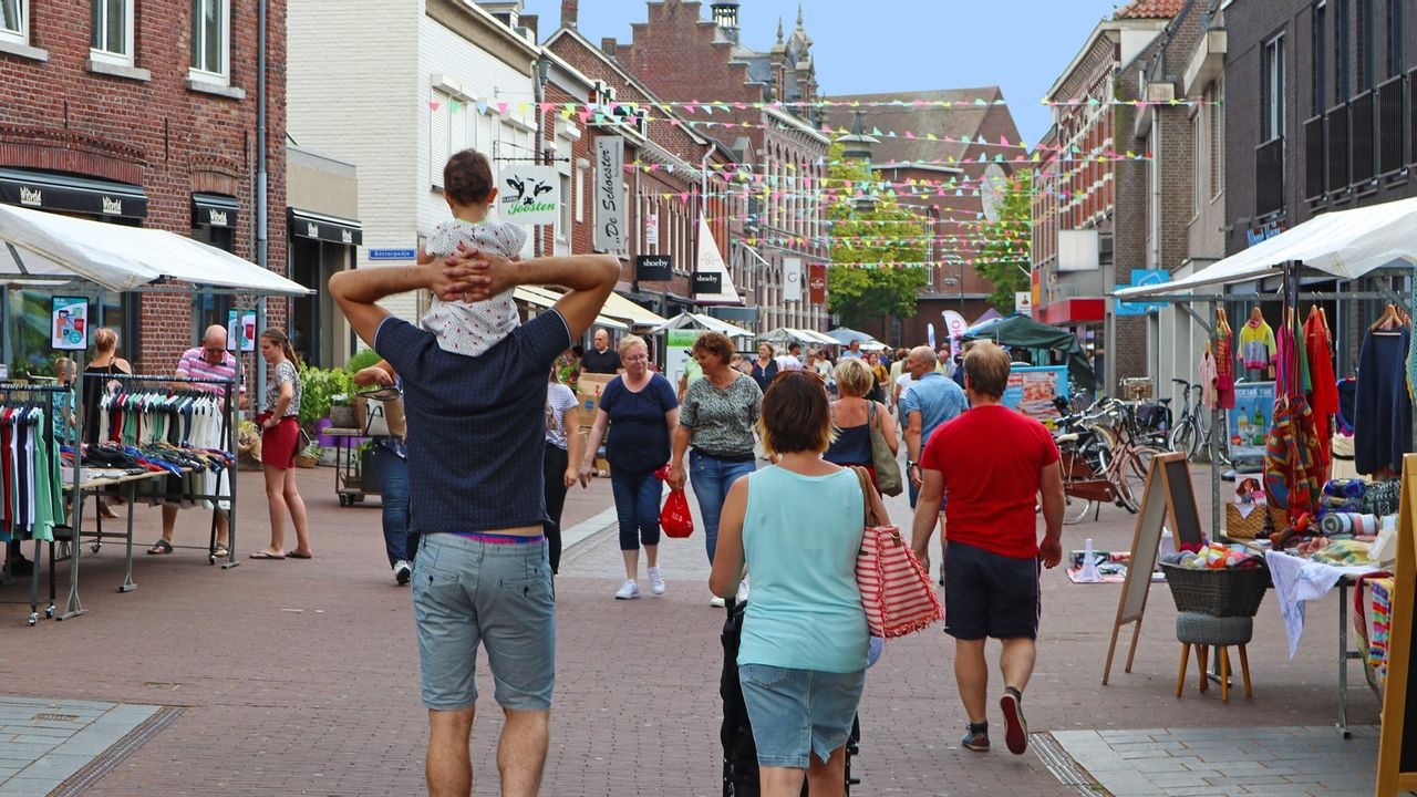 Zomermarkt Horst afgelast vanwege hitte